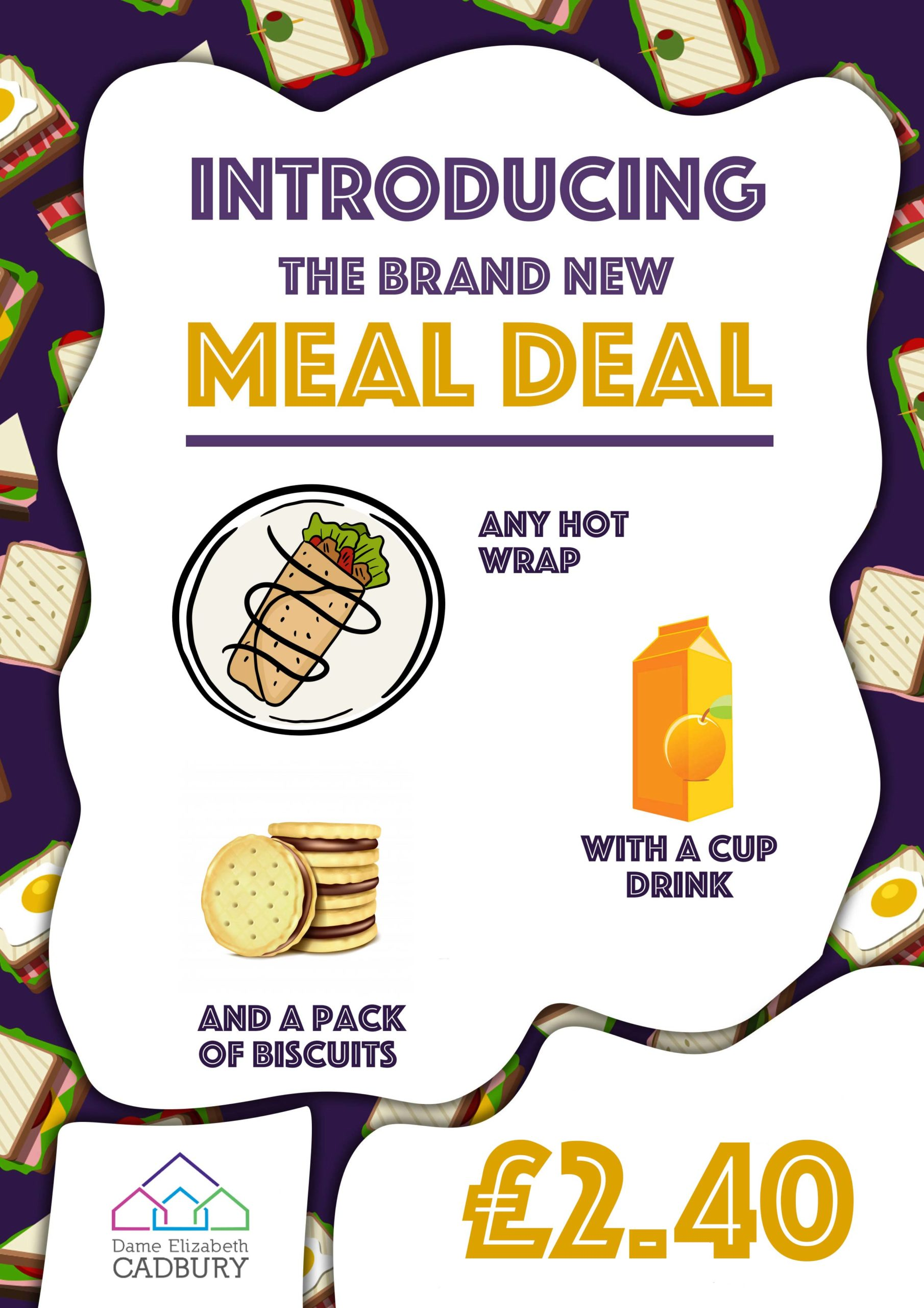 Wrap meal deal